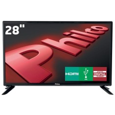 "Foto TV LED 28"" Philco PH28D27D 2 HDMI USB PC"