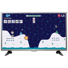 "Foto TV LED 32"" LG 32LH515B 1 HDMI USB Frequência 60 Hz"
