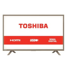 "Foto TV LED 32"" Semp Toshiba 32L1800 3 HDMI USB PC"