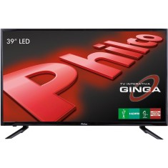 "Foto TV LED 39"" Philco PH39U21DG 3 HDMI LAN (Rede) USB"