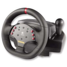Foto Volante PC MOMO Racing Force Feedback Wheel - Logitech