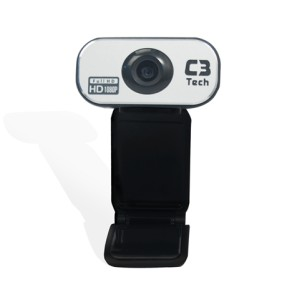Foto WebCam C3 Tech 12 MP Filma em Full HD WB383