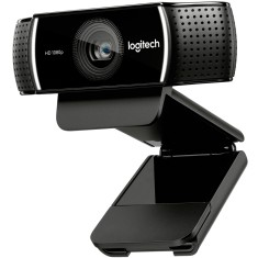 Foto WebCam Logitech 2 MP Filma em Full HD C922