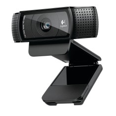 Foto WebCam Logitech HD Pro 15 MP Filma em Full HD C920