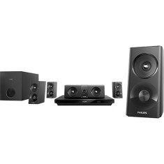 Home Theater Philips com Blu-Ray 3D 1.000 W 5.1 Canais Karaokê 1 HDMI HTB3520X/78
