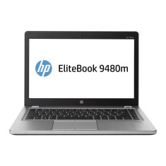 "Ultrabook HP EliteBook Folio Intel Core i5 4210U 4ª Geração 4GB de RAM HD 500 GB 14"" Windows 7 Professional 9480m"