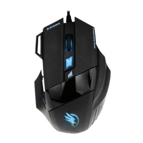 Mouse Óptico Gamer USB Black Hawk - Fortrek