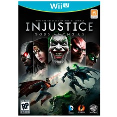 Jogo Injustice: Gods Among Us Wii U Warner Bros