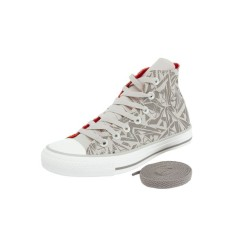Tênis Converse All Star Feminino Casual Ct As Geometric Print Hi