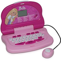 Laptop Infantil Barbie 30 Atividades Candide Fashion