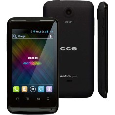 Smartphone CCE Motion Plus SK351 2,0 MP 2 Chips Android 4.0 (Ice Cream Sandwich) 3G Wi-Fi