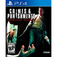 Jogo Sherlock Holmes Crimes and Punishment PS4 Focus