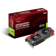 Placa de Video NVIDIA GeForce GTX 980 Ti 6 GB GDDR5 384 Bits Asus POSEIDON-GTX980TI-P-6GD5