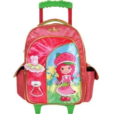 Mochila com Rodinhas Escolar Xeryus Moranguinho Dress Up 16 5650