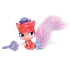 Boneca Princesas Disney Palace Pets Furry Tail Friends Treasure Estrela