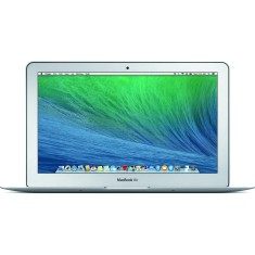 "Macbook Air Apple Intel Core i5 5ª Geração 4GB de RAM SSD 256 GB LED 11,6"" Mac OS X Yosimite MJVP2"