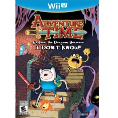Jogo Adventure Time: Explore Dungeon Because I Don't Know Wii U D3 Publisher