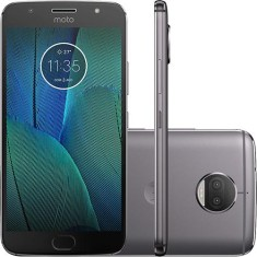 Smartphone Motorola Moto G G5S Plus XT1802 TV Digital 32GB 13,0 MP 2 Chips Android 7.1 (Nougat) 3G 4G Wi-Fi