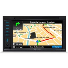 "Central Multimídia Automotiva Pósitron 6 "" SP8920 NAV"
