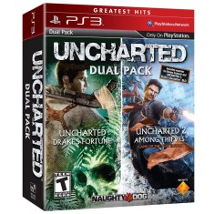Jogo Uncharted Dual Pack PlayStation 3 Sony