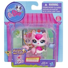 Boneca Littlest Pet Shop Movimentos Mágicos Kitty Chaton Hasbro