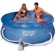 Piscina Inflável 5.621 l Redonda Intex Easy Set 56421