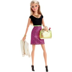 Boneca Barbie Look do Dia CLL33 Mattel