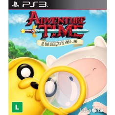 Jogo Adventure Time: As Investigações de Finn e Jake PlayStation 3 Little Orbit