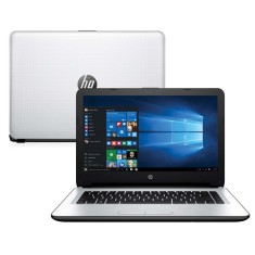 "Notebook HP Intel Core i3 5005U 5ª Geração 4GB de RAM HD 500 GB 14"" Windows 10 14-ac108br"