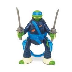Boneco Tartarugas Ninja Leonardo Throw In Battle BR285 - Multikids