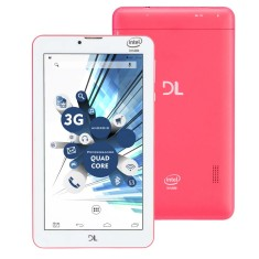 "Tablet DL Eletrônicos 3G 8GB LCD 7"" Android 5.0 (Lollipop) TabPhone 710"