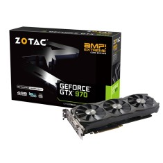 Placa de Video NVIDIA GeForce GTX 970 4 GB GDDR5 256 Bits Zotac ZT-90107-10P