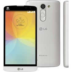 Smartphone LG L Prime TV Digital 8GB D337 8,0 MP 2 Chips Android 4.4 (Kit Kat) 3G Wi-Fi