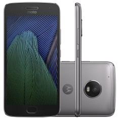 Smartphone Motorola Moto G G5 Plus XT1683 TV Digital 32GB 12,0 MP 2 Chips Android 7.0 (Nougat) 3G 4G Wi-Fi