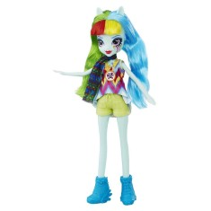Boneca My Little Pony Equestria Girls Legend Of Everfree Rainbow Dash Hasbro