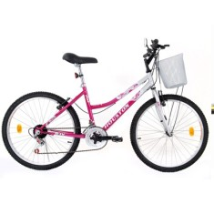 Bicicleta Houston 7 Marchas Aro 24 Freio V-Brake Bristol Peak