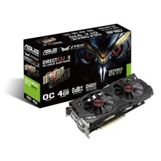Placa de Video NVIDIA GeForce GTX 970 4 GB GDDR5 256 Bits Asus STRIX-GTX970-DC2OC-4GD5