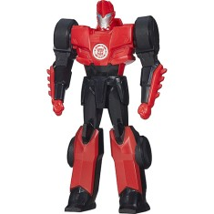 Boneco Transformers Sideswipe Robots In Disguise Titan Guardians B0758/B1787 - Hasbro