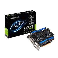 Placa de Video NVIDIA GeForce GTX 960 4 GB GDDR5 128 Bits Gigabyte GV-N960OC-4GD