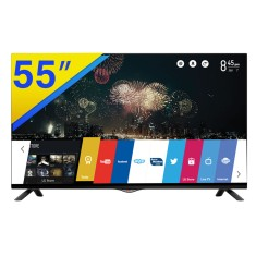 "Smart TV TV LED 3D 55"" LG Cinema 3D 4K 55UB8300 3 HDMI"