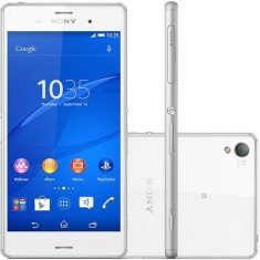 Smartphone Sony Xperia Z3 TV Digital 16GB D6643 20,7 MP Android 4.4 (Kit Kat) Wi-Fi 3G 4G
