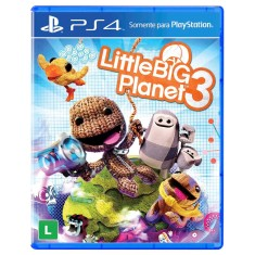 Jogo Little Big Planet 3 PS4 Sony