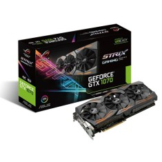 Placa de Video NVIDIA GeForce GTX 1070 8 GB GDDR5 256 Bits Asus STRIX-GTX1070-O8G-GAMING