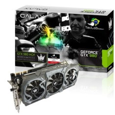 Placa de Video NVIDIA GeForce GTX 980 4 GB GDDR5 256 Bits Galax 98NQH6DND2RO