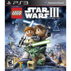 Jogo Lego Star Wars III: The Clone Wars PlayStation 3 LucasArts