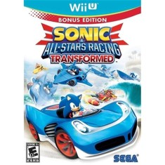 Jogo Sonic & Sega All-Stars Racing Transformed Wii U Sega