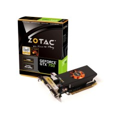 Placa de Video NVIDIA GeForce GTX 750 1 GB GDDR5 128 Bits Zotac ZT-70702-10M