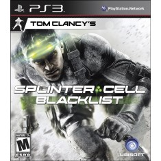 Jogo Tom Clancy's Splinter Cell: Black List PlayStation 3 Ubisoft