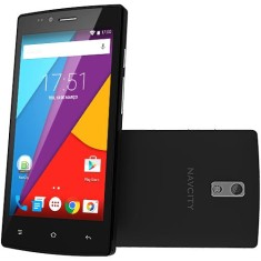 Smartphone NavCity 8GB NP751-Q 5,0 MP 2 Chips Android 4.4 (Kit Kat) 3G Wi-Fi