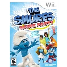 Jogo The Smurfs: Dance Party Wii Ubisoft